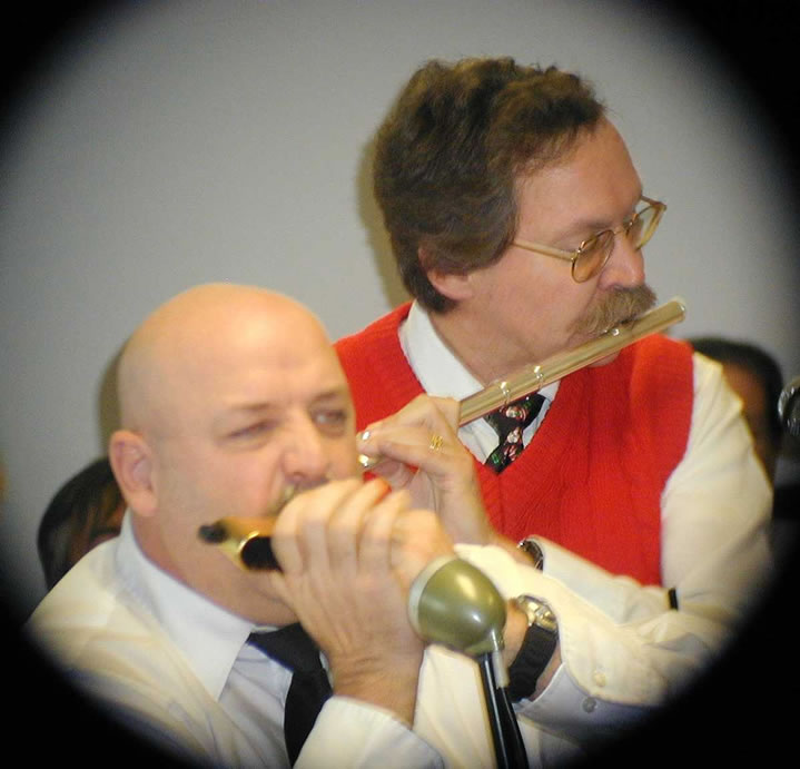 Pete & Greg playing at OIT Holiday Concert picture